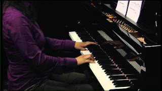 Chenyin Li plays the slow movement of Clementi Sonata op 25 no 5 in F sharp minor