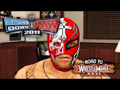 WWE Smackdown vs Raw 2011 - REYS DIRTY TRICKS!! (Road To WrestleMania Ep 7)