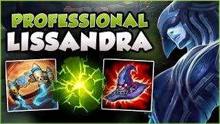 *NEW* LISS BUILD ALL PROS ARE ABUSING AT WORLDS! LISSANDRA SEASON 8 TOP GAMEPLAY! League of Legends