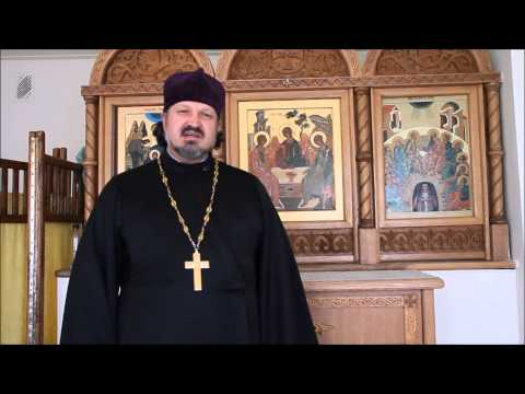 Поздравление с Пасхой настоятеля храма Всех Святых Российских