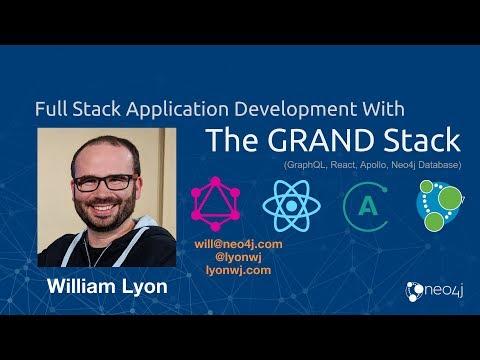 ReactNYC - All about GRAND Stack: GraphQL, React, Apollo, and Neo4j - William Lyon (@lyonwj)