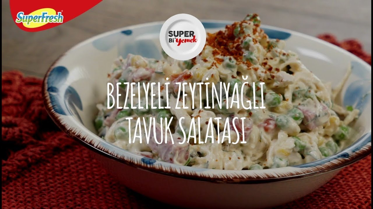 Bezelyeli Tavuk Salatası Tarifi