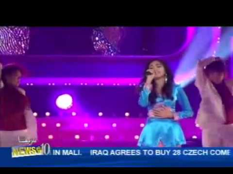 Maria Aires at ABU Radio Song Festival (RTB Brunei news report)