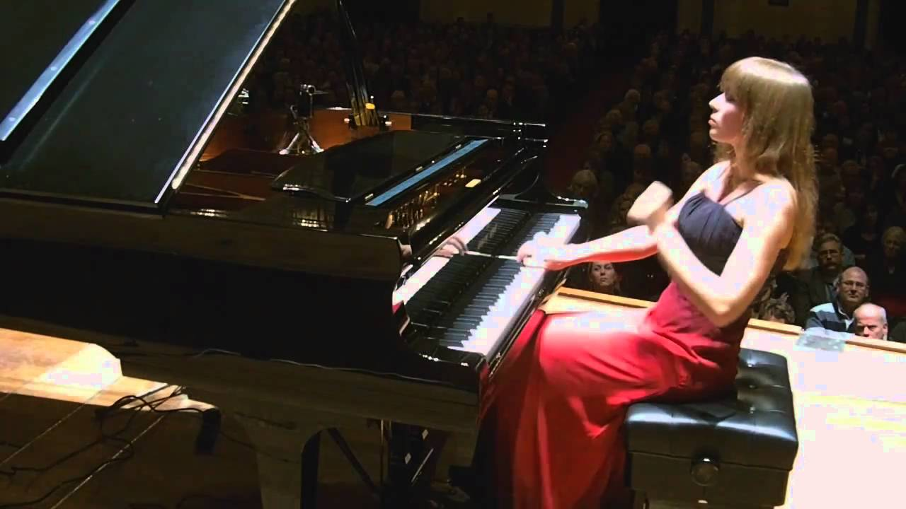 Anna Fedorova, Chopin Valse Op.64 nr.1 live Amsterdam Concertgebouw