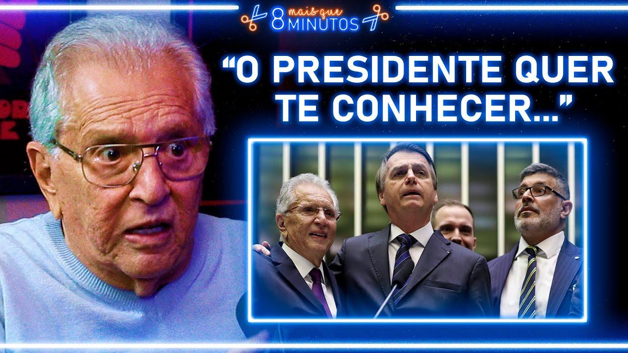 A HOMENAGEM NO CONGRESSO - CARLOS ALBERTO | Cortes Mais que 8 Minutos