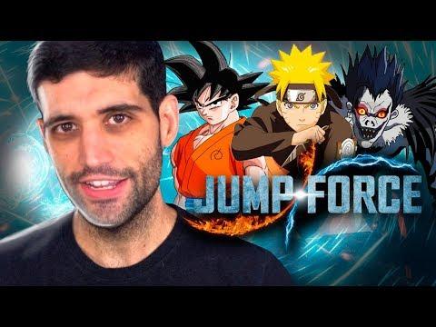 Naruto x Goku x Death Note, Jump Force, o jogo mais inacreditável já feito
