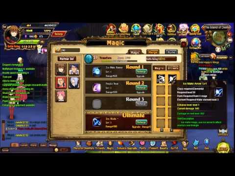 Система магии в игре Fairy Tail online