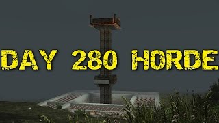 7 DAYS TO DIE PS4  let's play #63 day 280 Horde night!