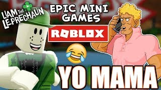 ROBLOX BABES in EPIC MINI GAMES - BRODY FOXX and LIAM THE LEPRECHAUN