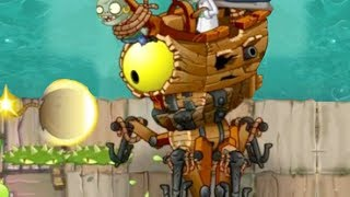 Plants vs. Zombies 2: Zombot Plank Walker (Dr. Zomboss pirate seas boss)