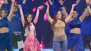 Pretty Double Stars | Varalakshmi**Isha Talwar Performing | VIKATAN AWARDS 2016