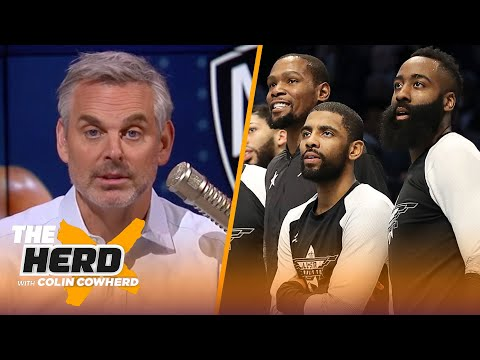 James Harden going to Nets shows difference between LeBron & Kevin Durant — Colin   NBA   THE HERD