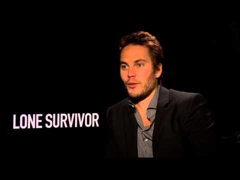 "Lone Survivor: Taylor Kitsch ""Mike Murphy"" Official Movie Interview (Junket)"