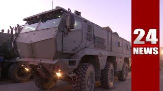Ռուսական բանակի տեխնիկան շարժվում է Արցախ