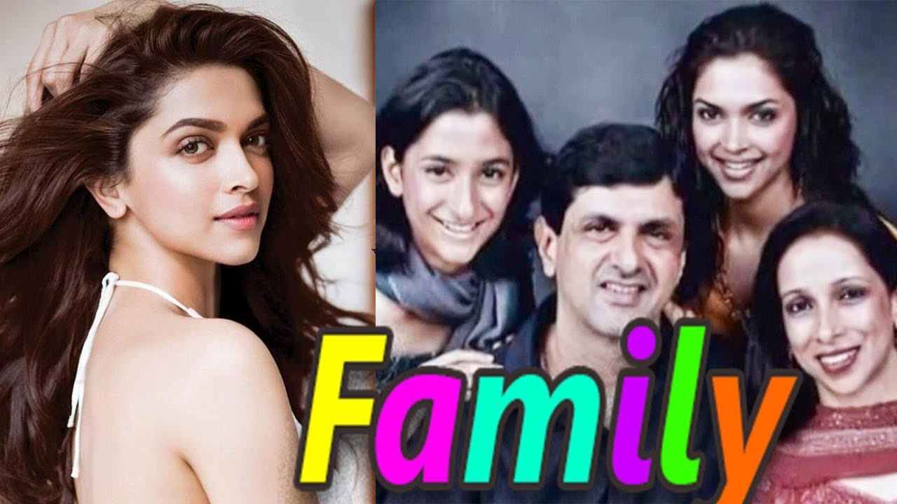 Actress Deepika Padukone Family Photos With Parents Sister With