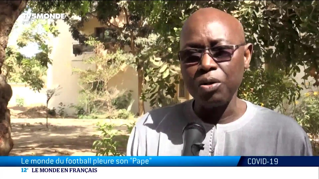 Sénégal : Pape Diouf est mort du Covid-19