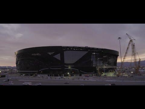 PRIVATE TOUR OF ALLEGIANT STADIUM - HOME OF THE NFL RAIDERS