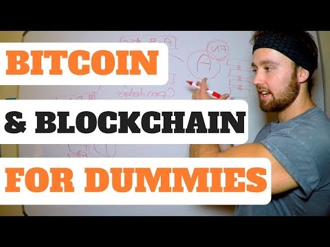 Bitcoin for Dummies – Blockchain and Bitcoin SIMPLE Explanation