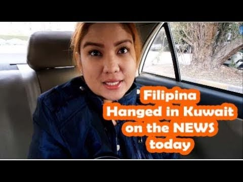 First Filipina Hanged in Kuwait on the NEWS! (Kuwait Vlog: Vlog # 3) A shocking day!