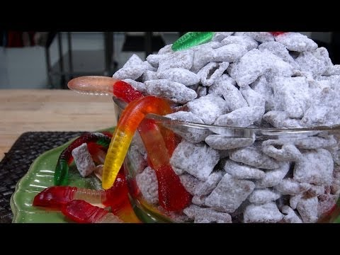 How to make puppy chow without a microwave