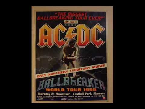 AC/DC [November 21st 1996] Marrara Stadium (Football Park), Darwin, Australia {Live Audio}