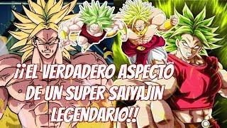 ¡¡Broly y Kale!! El Verdadero aspecto de un SuperSaiyan Legendario. Dragon Ball Super
