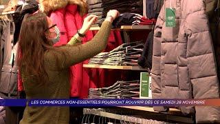 Yvelines | Les commerces non-essentiels pourront rouvrir dès ce samedi 28 novembre