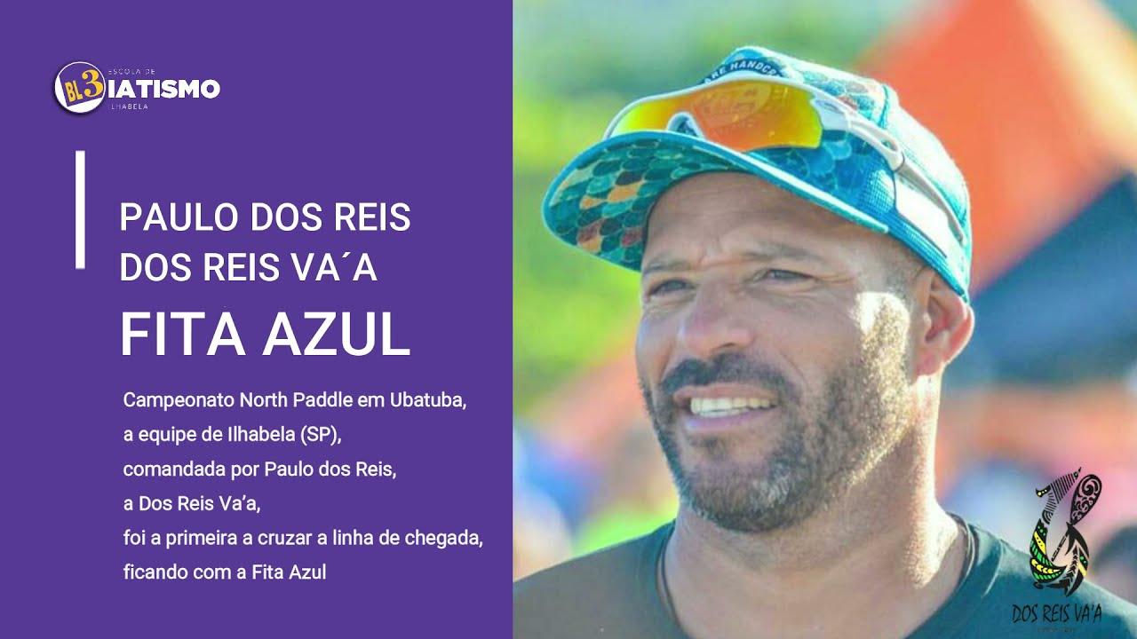 Paulo dos Reis e Dos Reis Va´a: Fita Azul no desafio Norte Paddle Ubatuba