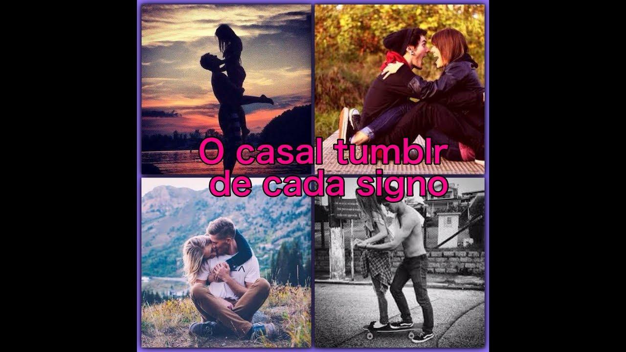 Casal De Signos ~ O casal tumblr de cada signo YouTube