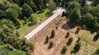 Remont cmentarza żołnierzy Armii Czerwonej w Ostrołęce