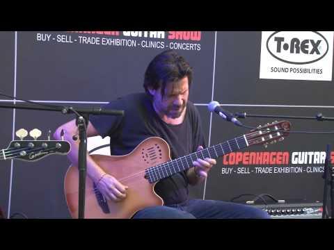 Godin guitars presented by Jacob Gurevitch and AC at Copenhagen Guitar Show