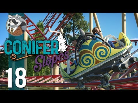 [Planet Coaster]Conifer Slopes-Part 14-Spin Baby Spin-HD