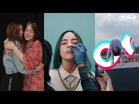 Billie Eilish Tik Tok Girls Compilation 👩‍🎤⭐👅