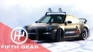 Fifth Gear Ice Racing In Lapland смотреть