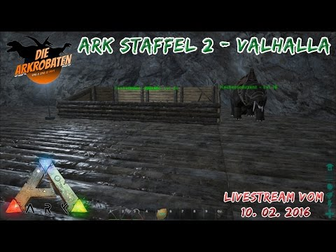 [GER] Arkrobaten - Ark: Survival Evolved - Valhalla - Dung Beetle Taming (Part 14)