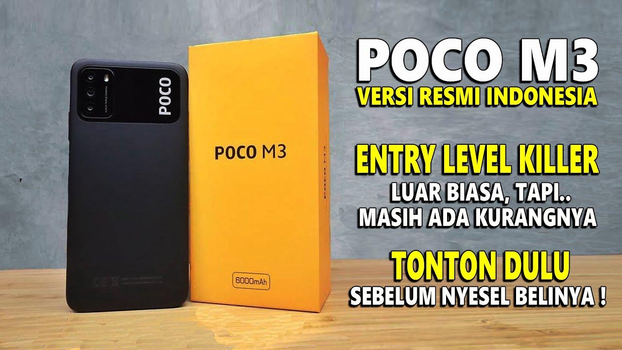 POCO M3 versi RESMI Indonesia - Banyak Lebihnya Tetap Ada Kurangnya - Rilis beberapa hari lagi