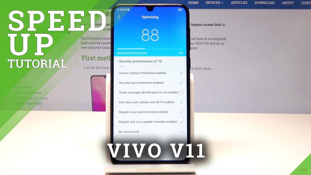 How to Speed Up VIVO V11 - Delete Junk Files in VIVO