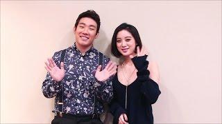 그라치아 4월 2호(통권 제 75호) 버나드 박u0026혜림 화보 촬영 인사