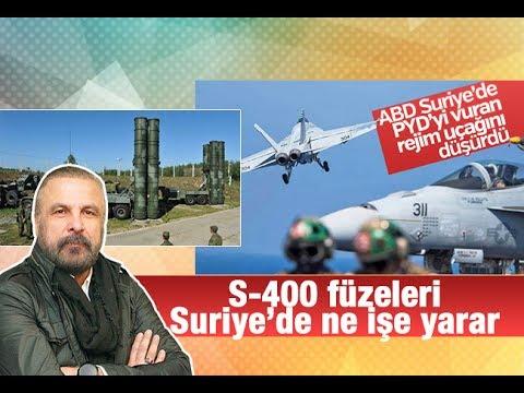 Mete Yarar    S 400 füzeleri Suriye'de ne işe yarar