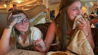 Kamri Ate a SNAIL??   Disney Cruise