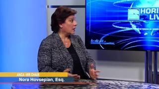 Asbarez with Nora Hovsepyan 12 21 16