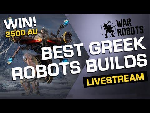 Download War Robots Giveaway   Best Greek Robot Builds (with Adrian) [Ares, Hades, Nemesis]