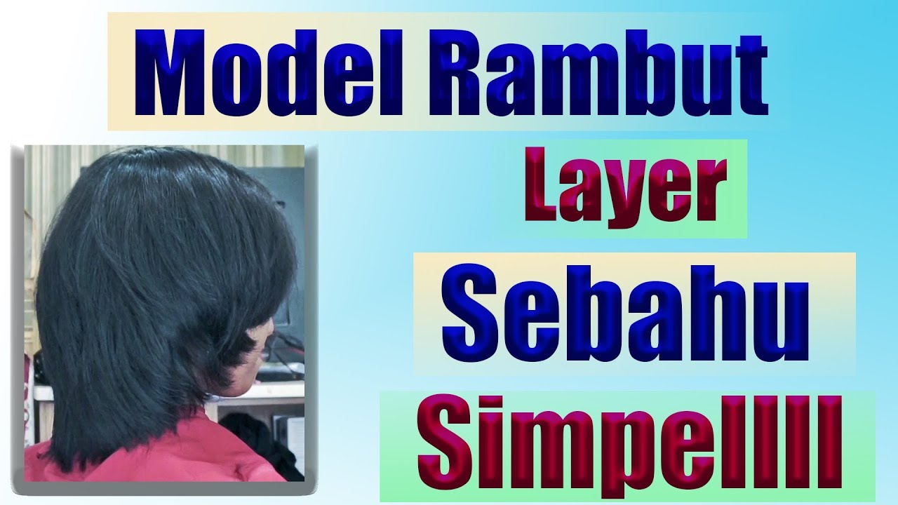 Model Rambut Pendek Wanita Youtube