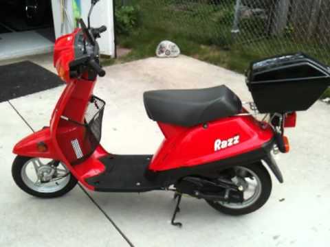 Yamaha Razz Scooter