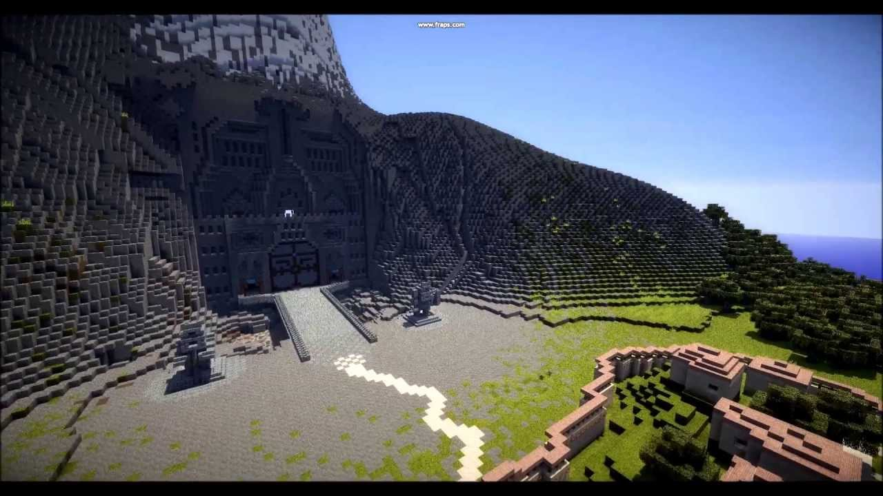 Minecraft middle earth erebor old version youtube gumiabroncs Choice Image