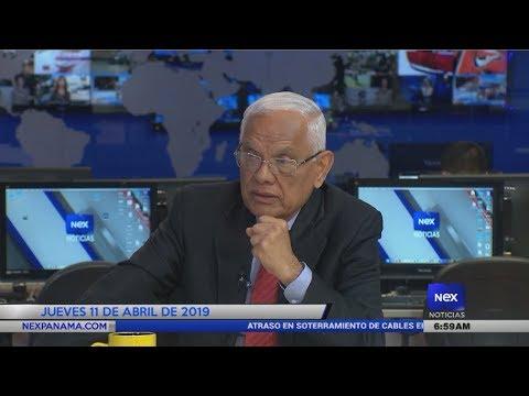 Análisis internacional del Ing. José I. Blandón Castillo | 11-04-2019
