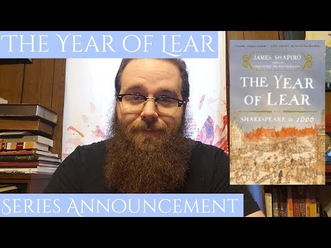 Series Announcement: The Year Of Lear: Shakespeare In 1606 (James Shapiro)