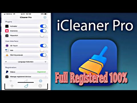 How To Get Icleaner Pro Full Registered On IOS 11.2.-11.3.1