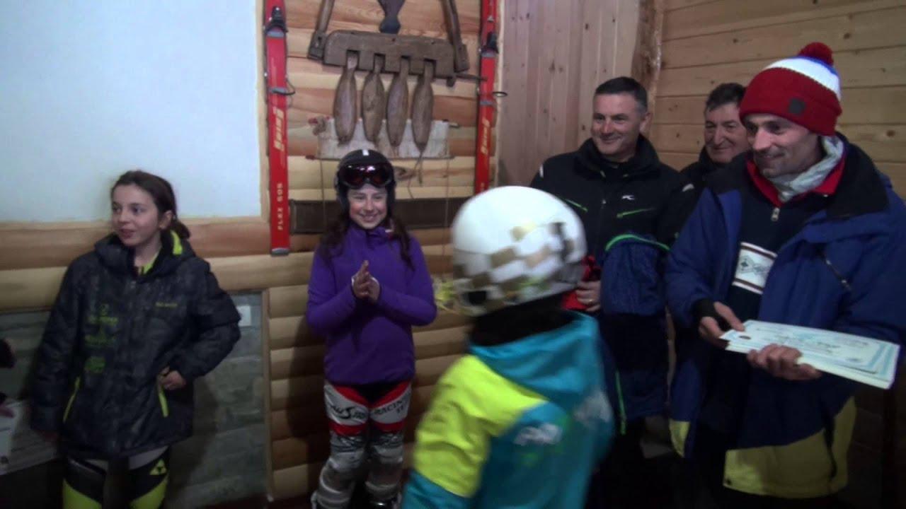 Skiprishtina race - kosovo alpine ski championship - slalom 05 feb 2016