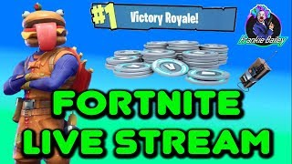 Fortnite Live Stream | 530 Wins PS4 Player | 500 SUB GRIND | V BUCKS Giveaway